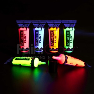 Pintura fluorescente textil (especial ropa) 10mL