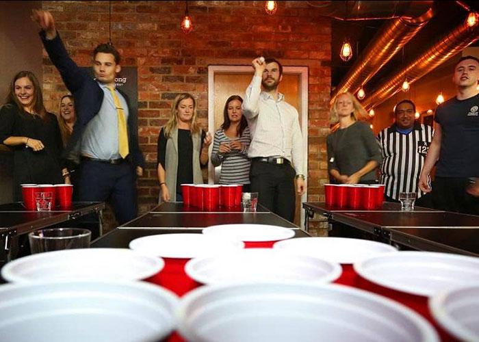 como se juega al beer pong